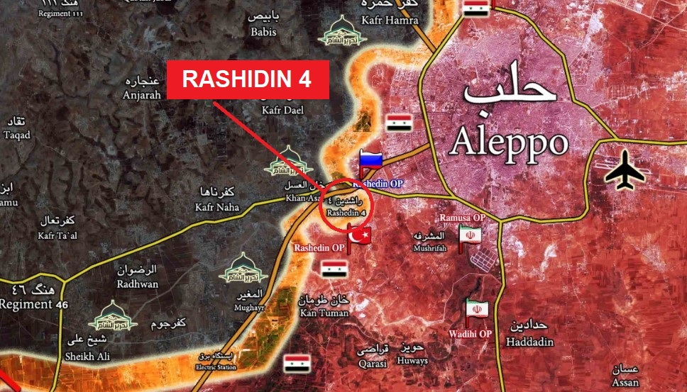 Syrian Army Liberates Rashidin 4 District In Western Aleppo: Reports (UPDATED)