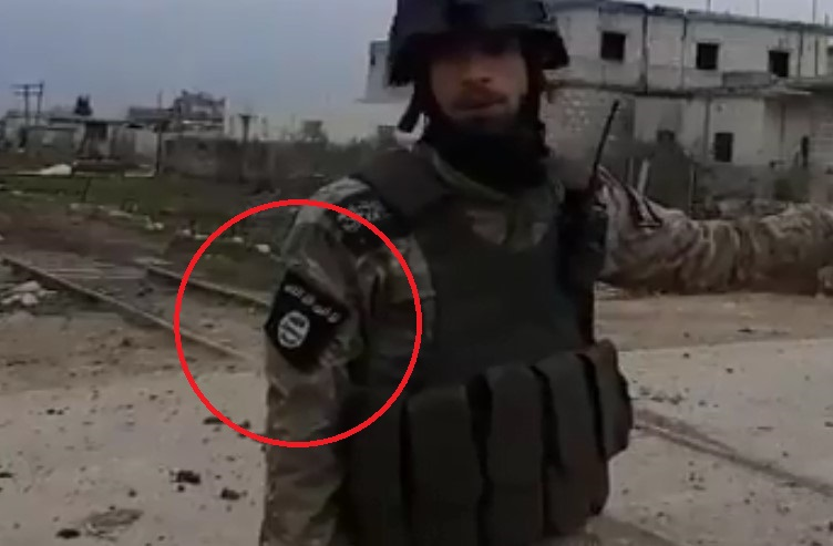 In Video: Turkish-backed 'Moderate Rebels' Wear ISIS Insignias
