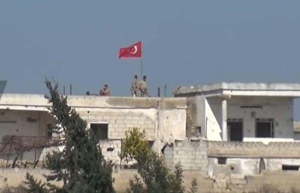 In Video: Turkish Observation Post South Of Maarat al-Numan Is Besieged By Syrian Army