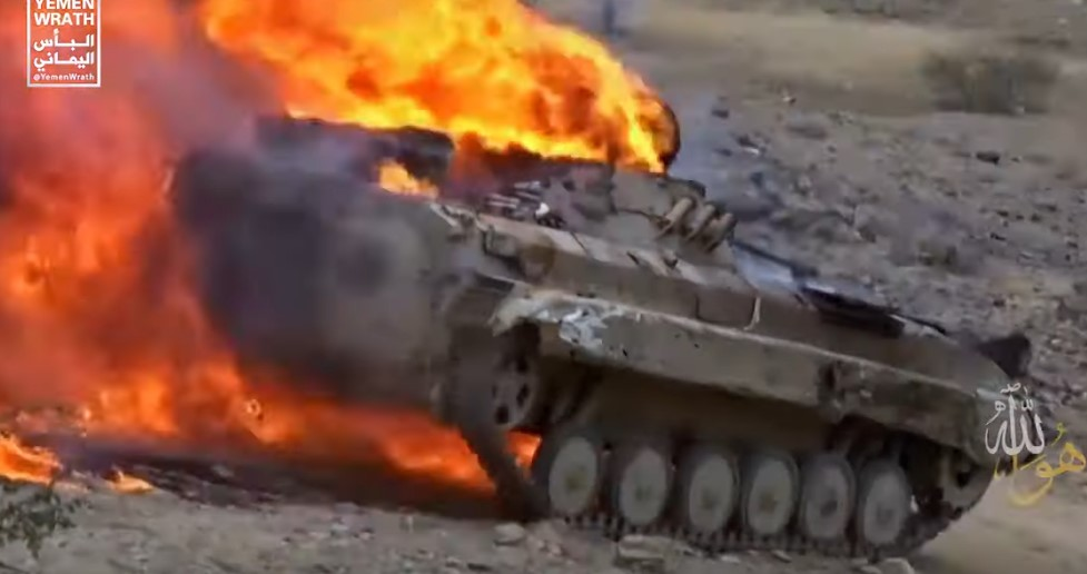 Burning Saudi Vehicles As Art Form: Houthis Release More Footage From Recent Offensive Operations