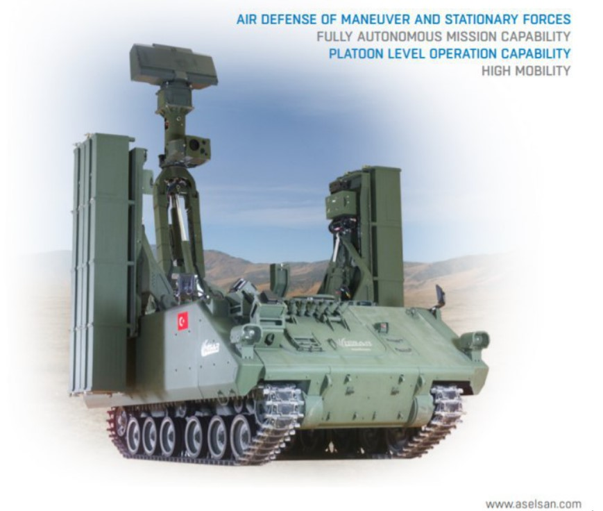 Turkey Vows To Deploy HISAR-A Air-Defense System Along Broder With Syria