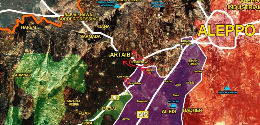 Militants' Defense In Werstern Aleppo Is Crumbling Under Syrian Army Strikes. Another Turkish Position Is Encircled