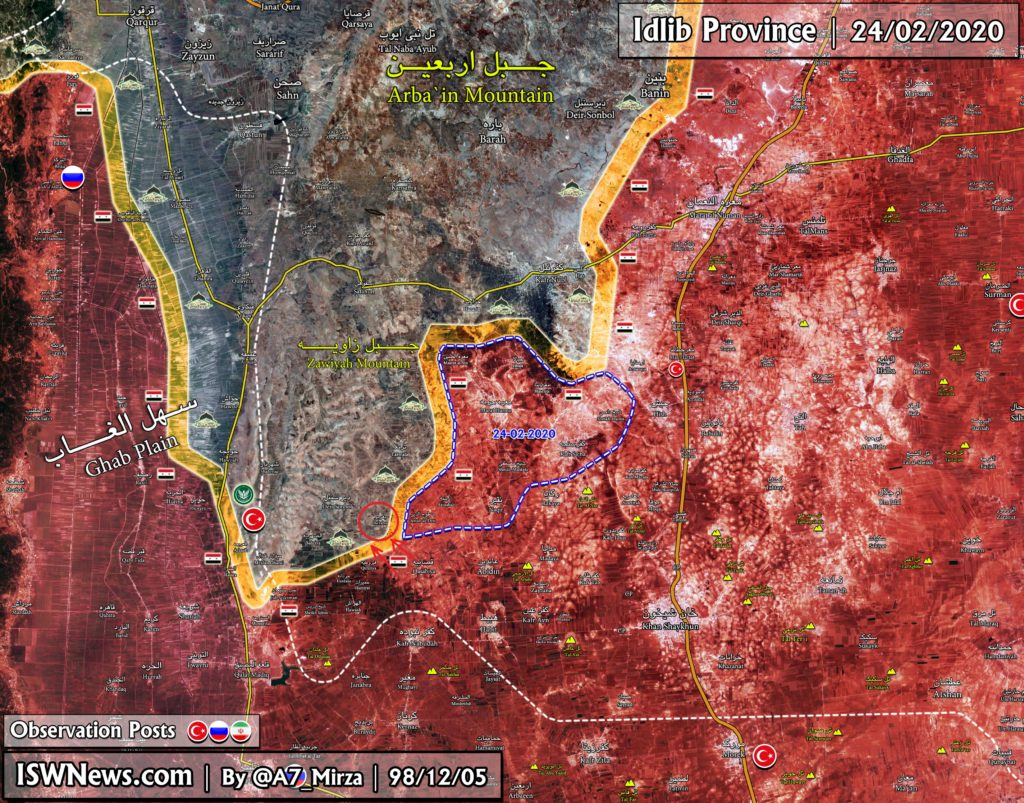Turkish Forces Lost Another Village To Syrian Troops Amid Clashes In Nayrab (Map Update)