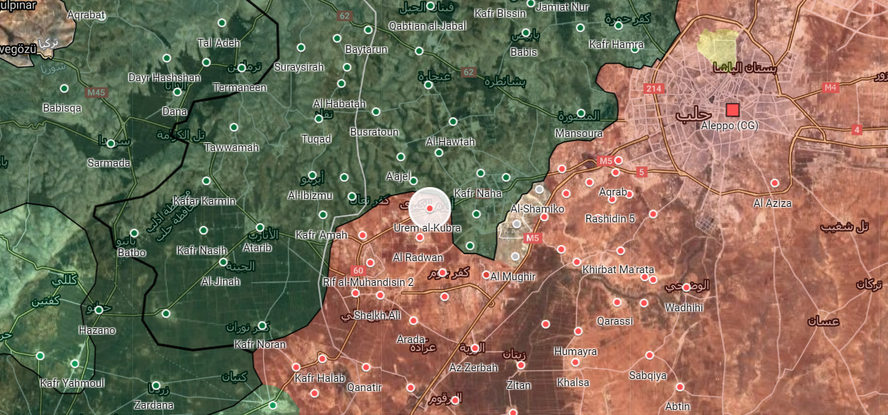 Syrian Army Enters New Town In Western Aleppo
