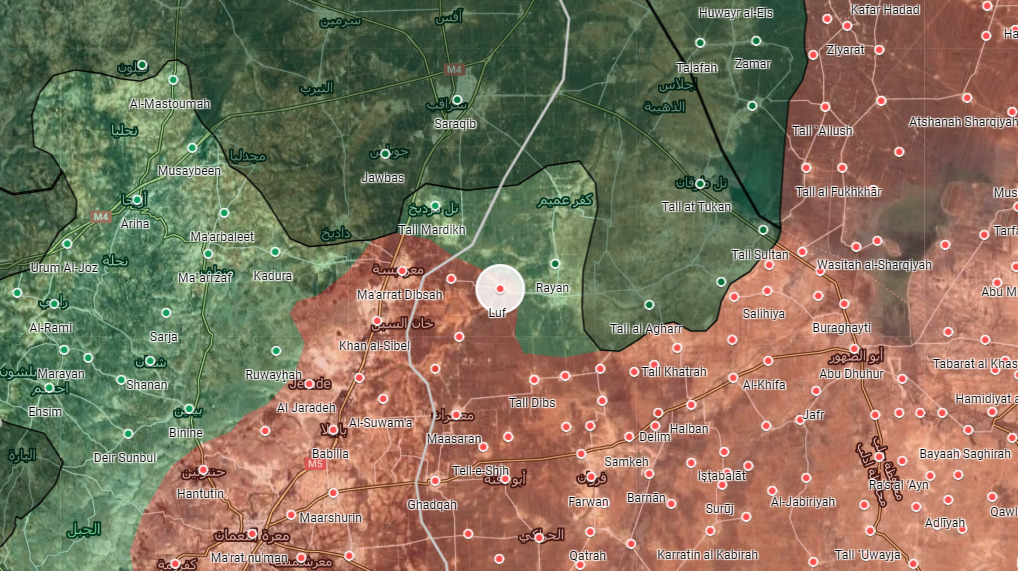 Syrian Army Advances South Of Saraqib, Captures New Town
