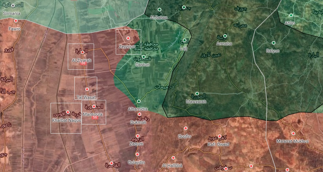 Syrian Army Advances Froward In Al-Ghab Plain, Secures Several Towns