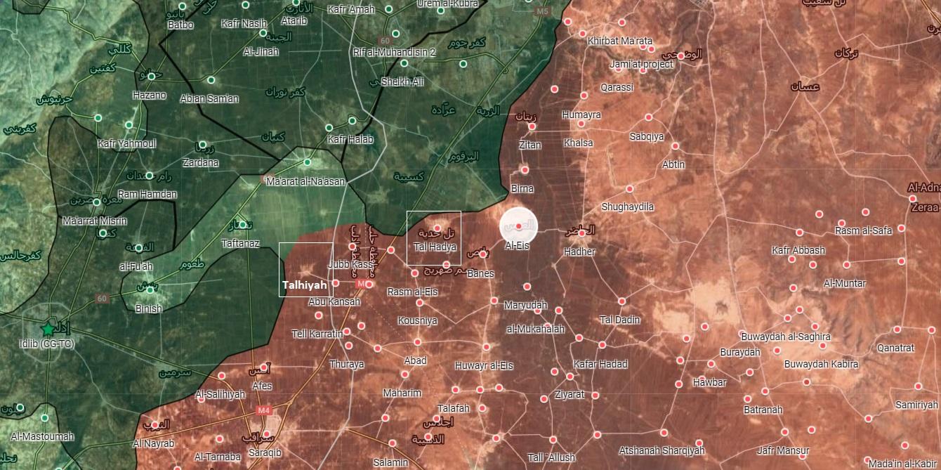 Sýrska Armáda Preddavky Spolu Diaľnici M5, Zachytáva Dve Mestá