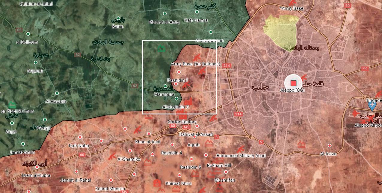 Sýrska Armáda Zabezpečuje Niekoľko Mestských Oblastí V Aleppo Mesto Outskirt