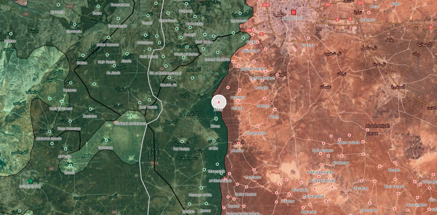 Government Forces Make More Gains In Southwest Aleppo