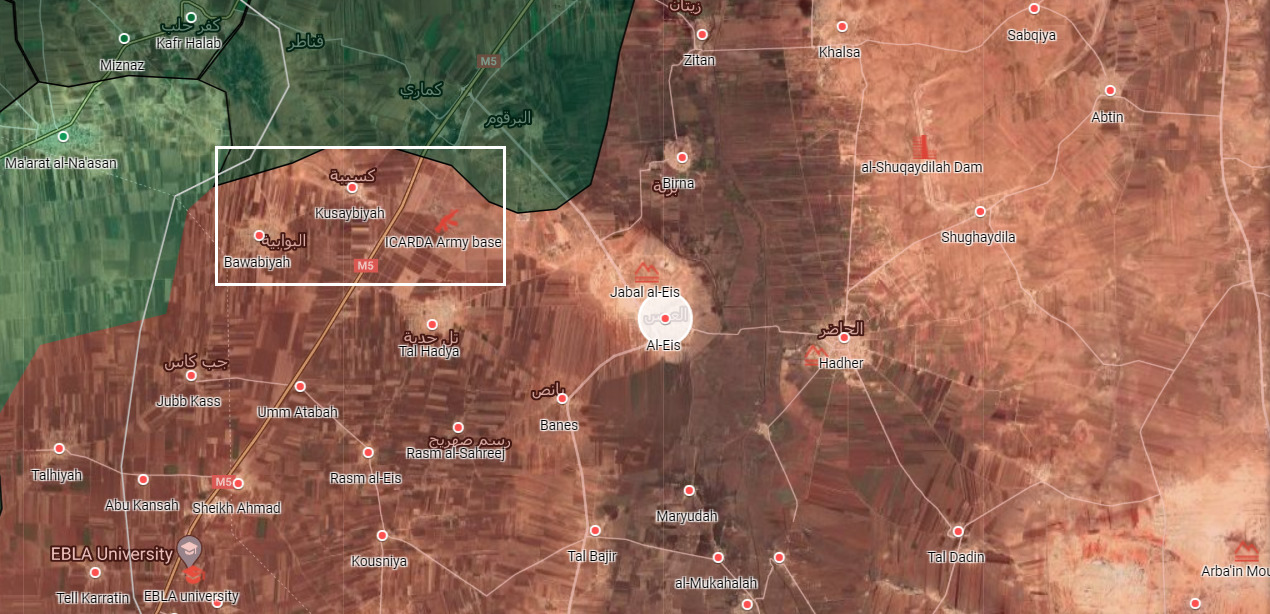 Syrian Army Secures ICARDA Center And Two Towns Along M5 Highway