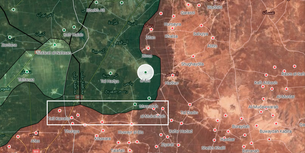 Syrian Army Advances Further Towards Al-Eis, Makes More Gains