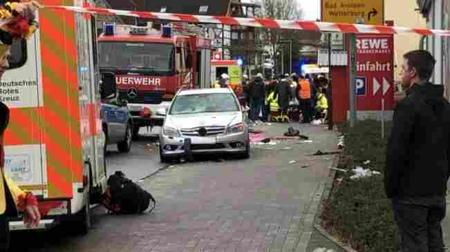 Car Ramming Attack In Germany Leaves Upwards of 30 Injured, Many In Critical Condition