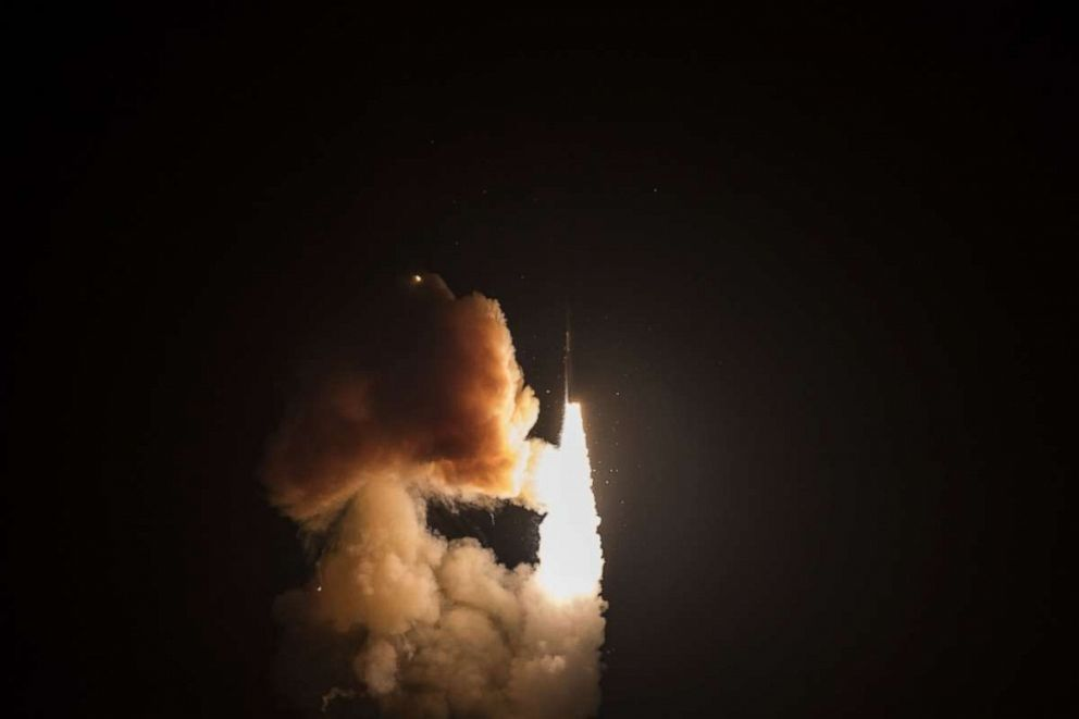 US Is Flexing Nuclear Muscles. ICBM Minuteman III Test Launched