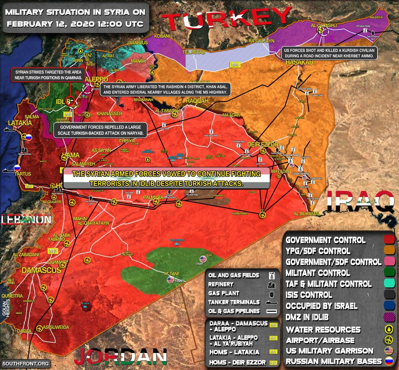 Mission Accomplished: M5 Highway Completely Secured By Syrian Army