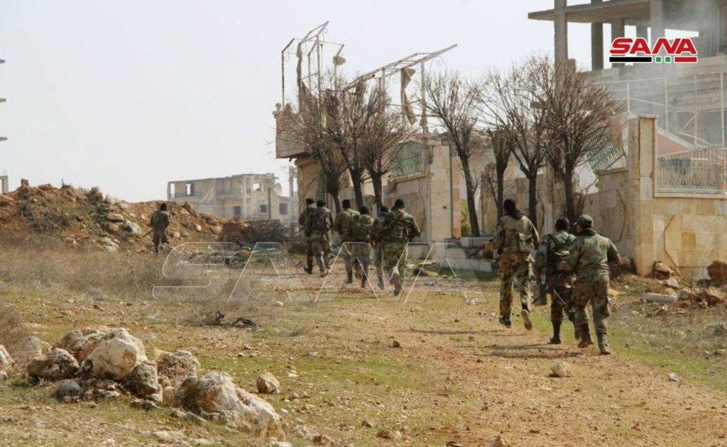 Syrian Army Pushes Al-Qaeda Militants Back From Positions That They Captured In Northwestern Hama