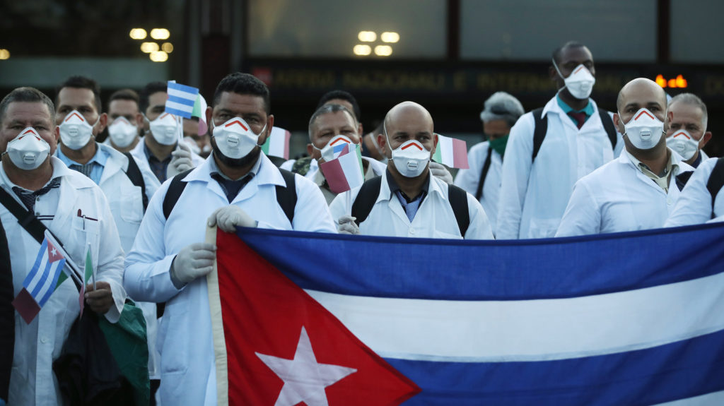Heroes And Villains: Mainstream Media And Western Establishment Against Medical Aid From Cuba, China And Russia