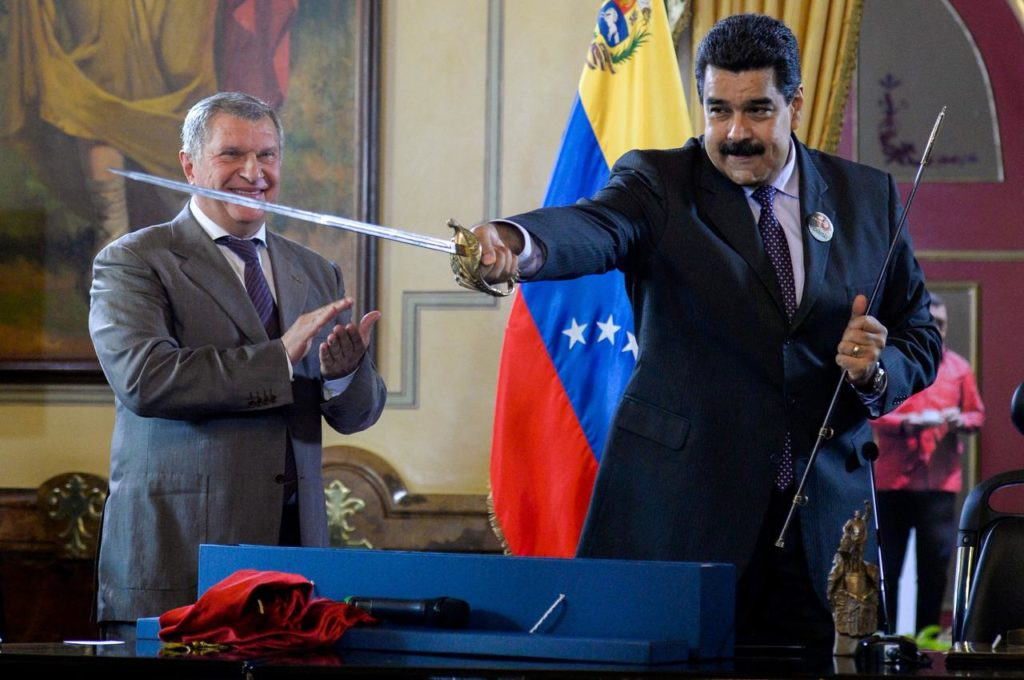 Rosneft Abruptly Exits Venezuela, Sells Assets To Russian State, Amid US Squeeze On Maduro