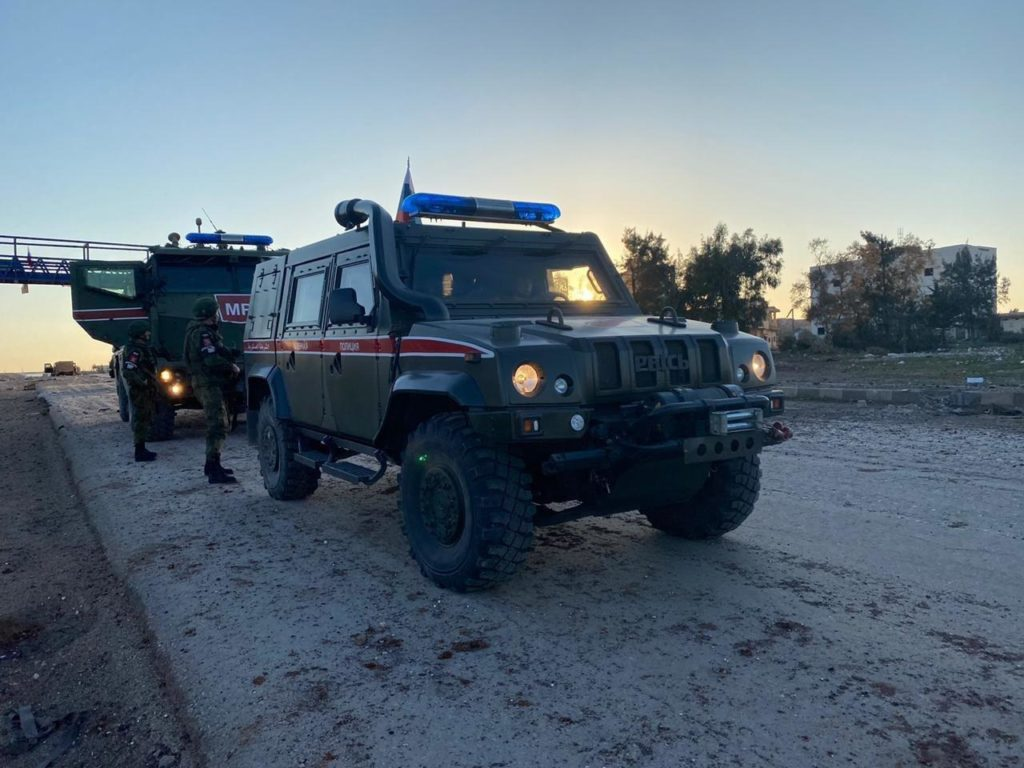 First Video Showing Russian Military Police In Saraqib Appears Online