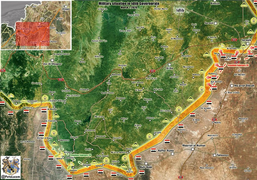 Syrian Forces Counter-Attack Near Saraqib As Air War Heats Up Over Idlib (Maps, Videos)