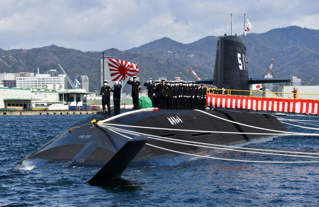 Japan Commissioned First Soryu-Class Attack Sub Fitted With Lithium-Ion Batteries