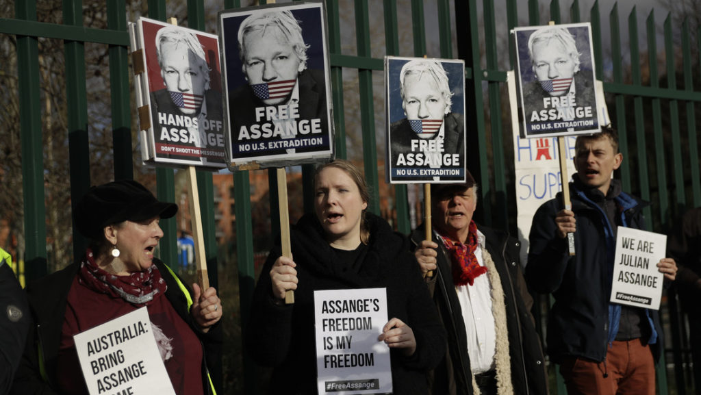Julian Assange and Lockdown Injustice