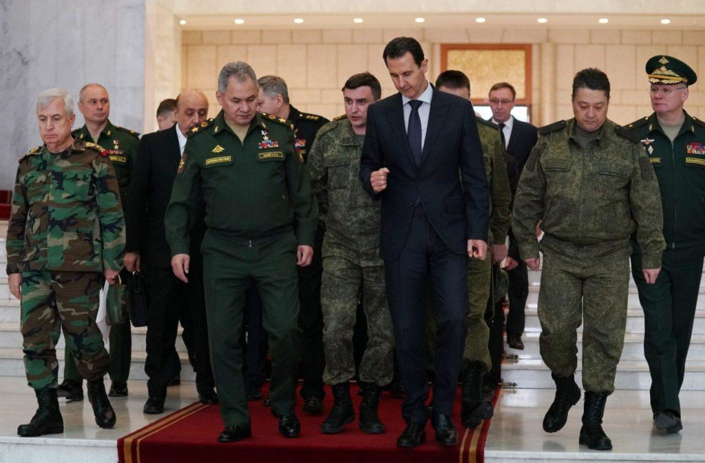 Russian Defense Minister Visits Syria To Meet With Assad
