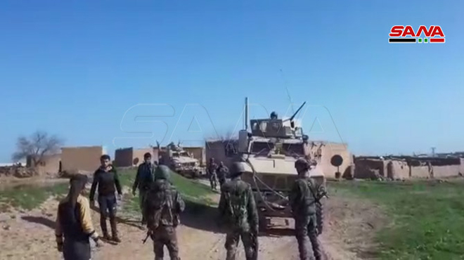 """Russian And US Forces Play """"Gotcha"""" Game In Northeastern Syria"""