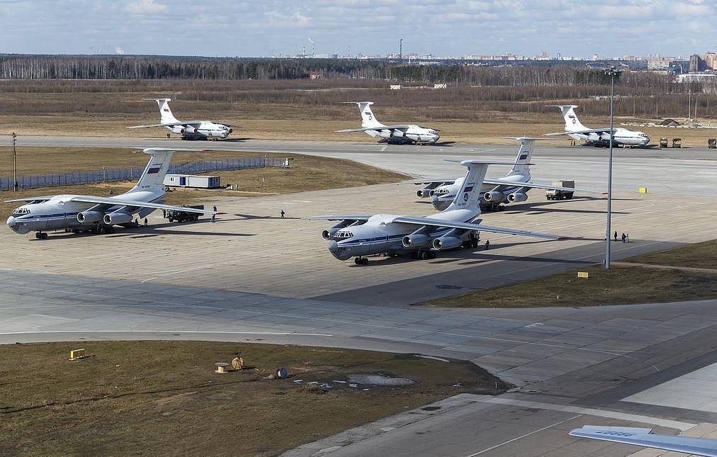 14th Russian IL-76 Arrived In Italy, After Situation Was Evaluated As Severe
