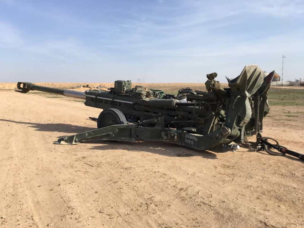 U.S.-led Coalition Deployed Howitzers In Northeast Syria Bases: SDF