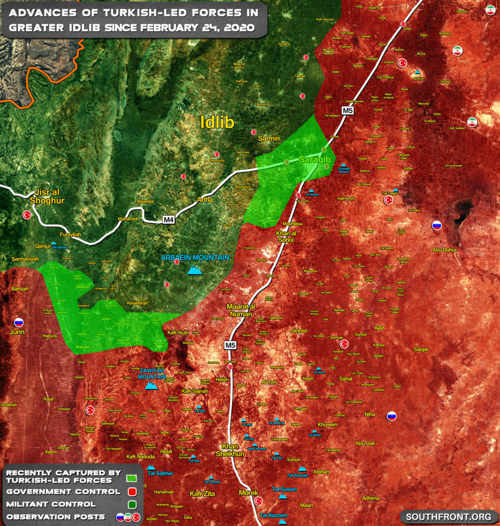 Turkey Officially Announced Operation Spring Shield In Syria's Idlib