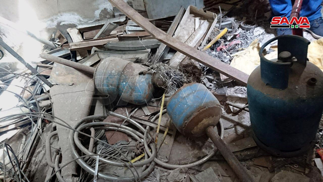 In Photos: Syrian Troops Captured Weapon Production Facilities Belonging To Militants In Western Aleppo