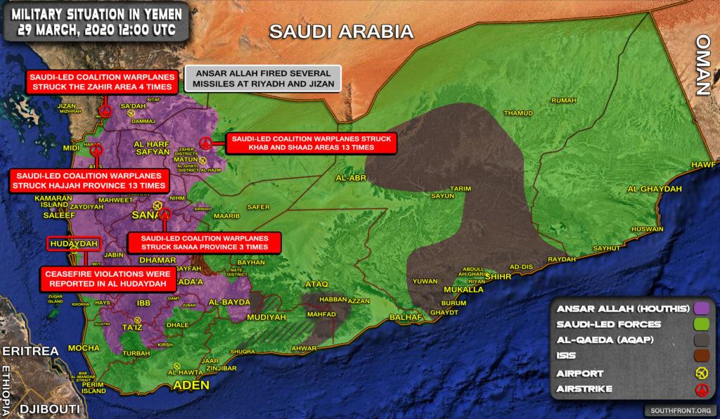 In Video: Houthis Engage Saudi-backed In Intense Fighting In Yemen's Al-Jawf