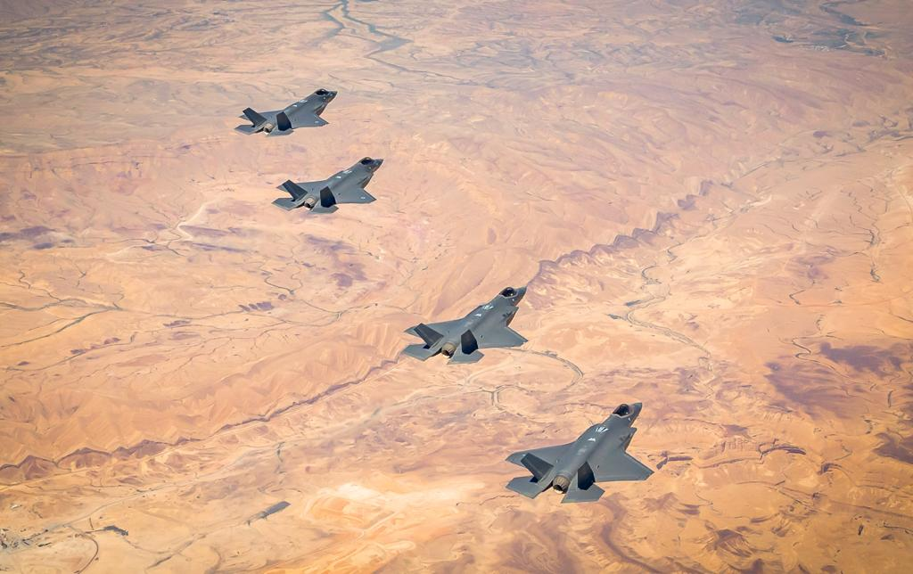 In Photos: Israel, U.S. Hold Joint Drills Involving F-35 Jets Despite 'COVID-19 Fears'