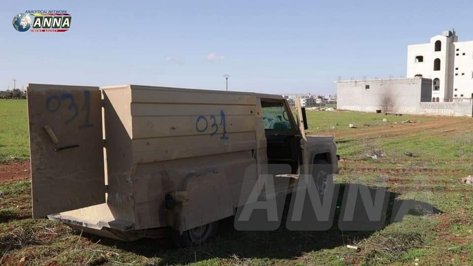 Closer Look At Equipment Of Turkish-led Forces Destroyed By Syrians Near Saraqib (Photos, Video)
