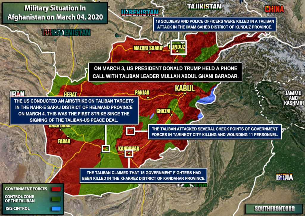 """Two Days After """"Historic"""" Peace Deal, Fighting In Afghanistan Resumes"""