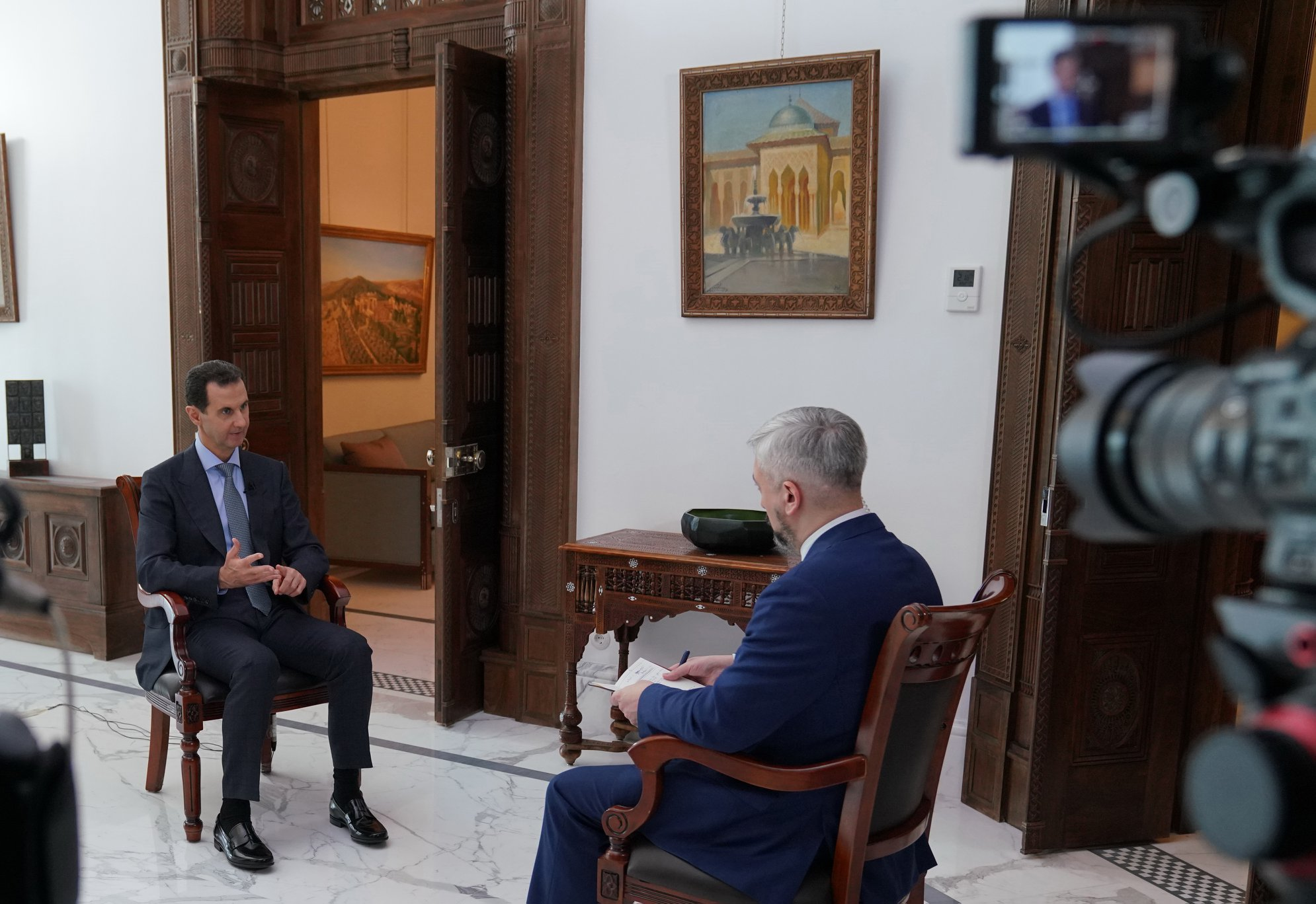 "Assad Says Current Disagreements With Turkey Are ""Illogical"""