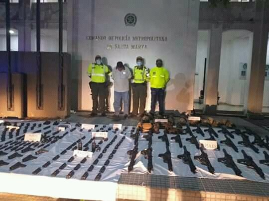 Arsenal Allegedly Prepared For Armed Rebelling In Venezuela Seized In Colombia