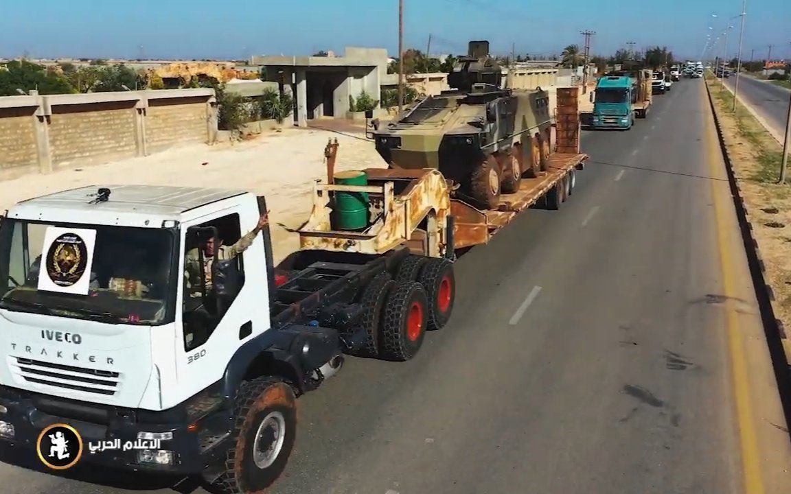 Haftar's Forces Deployed En Masse Around Tripoli