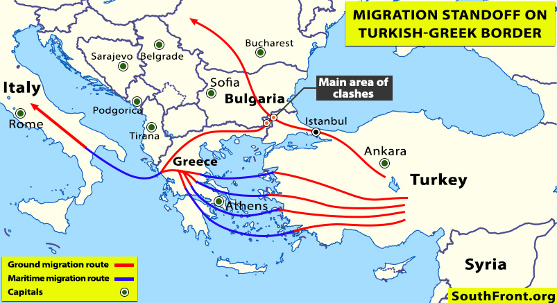Turkish Speed Boat Rams Greek Border Guard Vessel, As Turkish F-16 Jets Violate Airspace