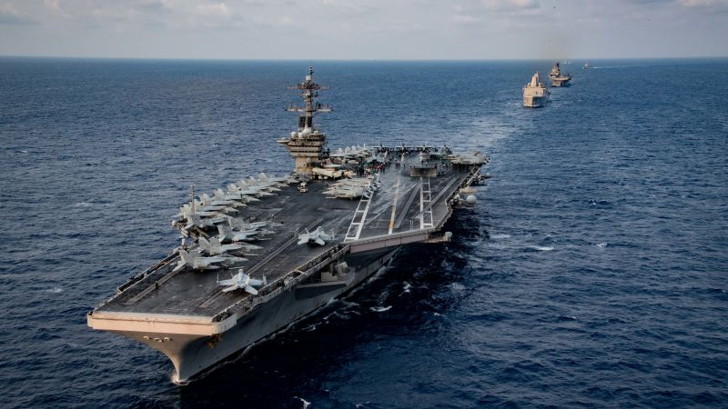 8 U.S. Sailors Tested Positive For COVID-19 On USS Theodore Roosevelt Aircraft Carrier: WSJ Report