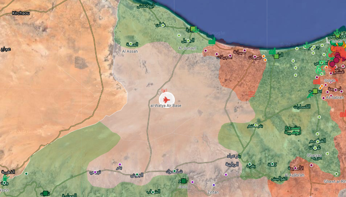 GNA Forces Launch Large Attack On Western Libya Air Base (Videos, Photos)