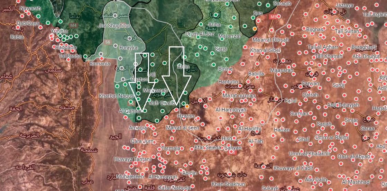 Turecko-Cúval Militantov Vopred V Južnej Idlib, Napriek Silnému Odporu Podľa Sýrskej Armády (Fotografie, Mapy)