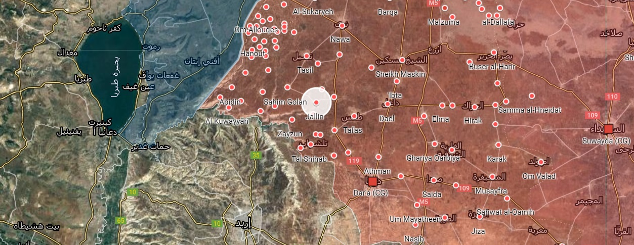 New Escalation In Western Daraa: Syrian Army Eliminates Two Rebel Commanders