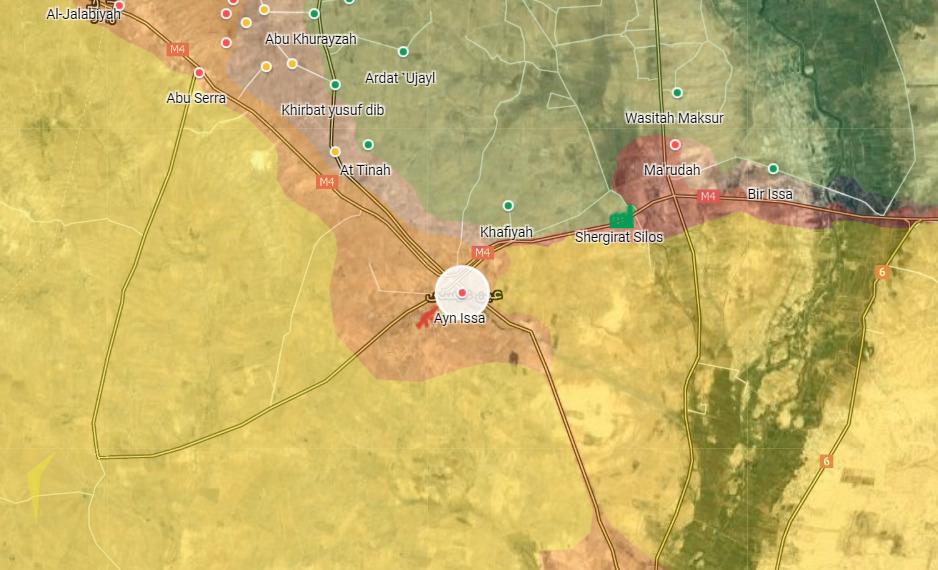 Turkish-Backed Militants Attack Kurdish Forces In Northern Raqqa