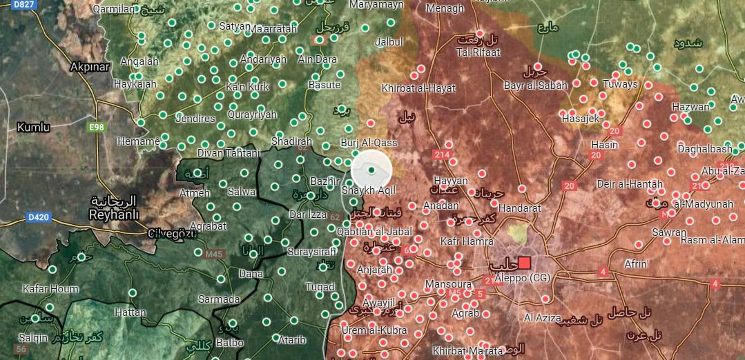 V Prekvapivom Útoku, turečtina Podporované Militantov Zachytiť al-Sheikh 'Aqil V Severnom Aleppo (Fotografie)