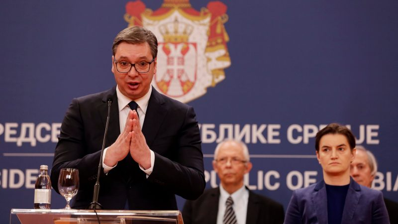 Serbian President Says European Solidarity Doesn't Exist, Asks China For Help Against COVID-19