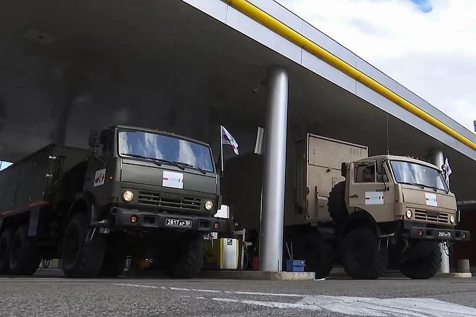 "Italians Were ""Dumbstruck"" By Russian Specialists' Speed"