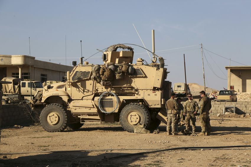 Iranian-backed Fighters Attack Another Supply Convoy Of US-led Coalition In Southern Iraq