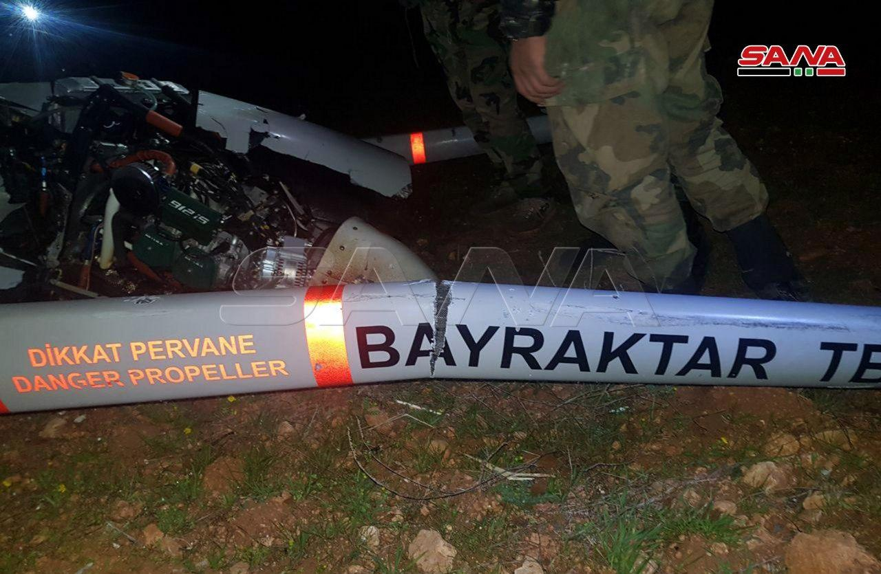 In Photos: Turkish Combat Drone Shot Down By Syrian Army In Greater Idlib