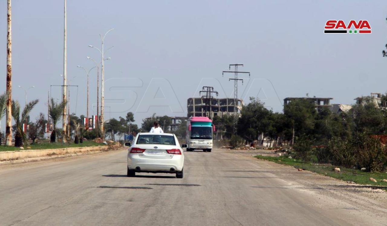 Damascus-Aleppo Is Highway Open Again For Traffic (Photos)